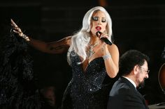 This is what Lady Gaga singing the national anthem sounds like...: This is what Lady Gaga singing the national anthem sounds… #LadyGaga