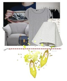"""""""Yellow Shoes?"""" by asya-1 on Polyvore featuring мода, Cassina, Milton & King, Chloé, Acne Studios, Opening Ceremony и Nicholas Kirkwood"""