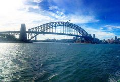 The Sydney Harbour bridge from the ferry back from manly #sydney #sydneyharbour #australia #travelphoto #straya #sydneyharbourbridge #nsw #dublinpassport by jay_doran http://ift.tt/1NRMbNv