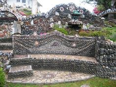 A Boeing mechanic and his wife leave a whimsical, stone sculptured garden as their legacy