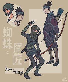 Sengoku Avengers Black Widow and Hawkeye