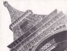 eiffel tower drawing and sketches (20)