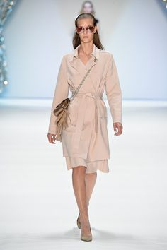 Catwalk photos and all the looks from Marc Cain Spring/Summer 2015 Ready-To-Wear London Fashion Week