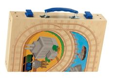 Open, unfold, take out your trains and let the fun begin, anywhere! Available at London Transport Museum.