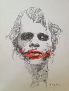 The Joker - Sanjulian Comic Art