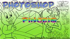 Pincéis (Brushes) de Coelhos e Ovos da Páscoa | Bait69blogspot
