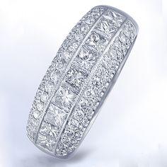 platinum big diamond engagement rings