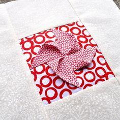 Block 22: Origami pinwheel – Textured quilt sampler   Sewn Up by TeresaDownUnder