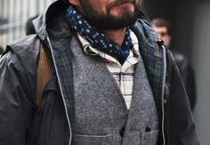 The Bandana is back for this Men's Spring Fashion 2014 | Royal Fashionist