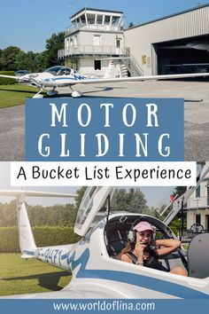 If you want to feel as free as a bird and see the world from above you should definitely add motor gliding to your bucket list! #motorgliding #bucketlist #flying #austria | Bucket List Experiences