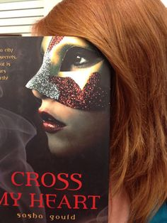 Ideas for passive programming in the library. This is a photo of a teen creating a bookface with a favorite book.