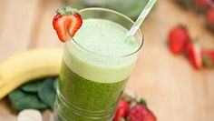 Jolly Green Smoothie Recipe | Blendtec Ingredients 2  cups  almond milk 2  tbsp  honey 1   banana 1   orange, peeled and halved 1⁄2  cup  fresh raspberries 5   fresh strawberries 3  cups  spinach 2  cups  ice cubes