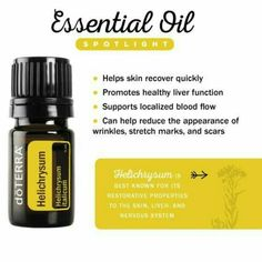 Doterra Helichrysum Essential oil ways to use. How to use Helichrysum oil. If you want to start with Doterra and get your own oils find our how here Helichrysum Essential Oil Uses, Helichrysum Oil, Are Essential Oils Safe, Essential Oil Blends, Healthy Liver, Healthy Skin, Doterra Essential Oils, Essential Oils For Tinnitus, Doterra Blends