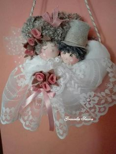 Angel Crafts, Heart Crafts, Xmas Crafts, Christmas Projects, Diy And Crafts, Christmas Tree Fairy, Christmas Angels, Camping Crafts For Kids, Tilda Toy