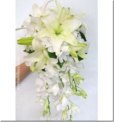 ramos con orquideas | velo de novias tiaras para novia Ramos Originales ramos de novia ...