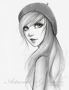art-drawing-eyes-girl-hair-Favim.com-268446 | Flickr - Photo Sharing!