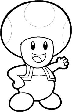 mario ausmalbilder 03 | Game Characters | Ausmalbilder ...