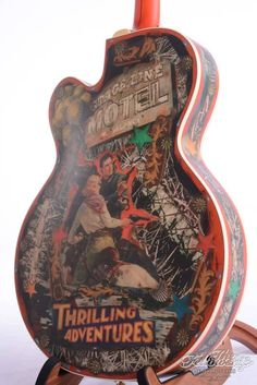 (via Gretsch Masterbuilt Custom Shop Guitar Painting, Guitar Art, Guitar Chords, Cool Guitar, Ukulele, Custom Acoustic Guitars, Custom Bass Guitar, Custom Guitars, Unique Guitars
