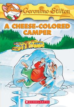 Geronimo Stilton: A Cheese-Colored Camper no. 16