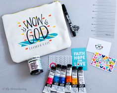 """""""If you are a new, beginning, or avid Bible journaler, you are DEFINITELY going to want to check out the other resources they offer on their website. Their prices are affordable, shipping is fast, and the quality is superb."""""""