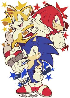Team Sonic! yeah! ★★★ [ Reblogs are so helpful for me, Not forget plz! ]