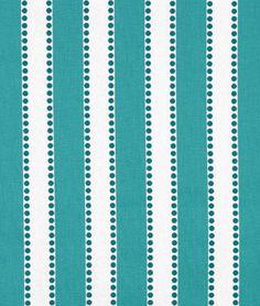 Premier Prints Lulu True Turquoise Fabric - $9.98 | onlinefabricstore.net