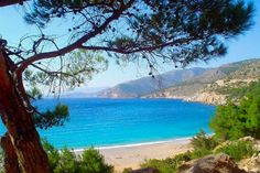 The beaches of Ormos tou Lo and Tagma are at your disposal. 11th Century, Greek Islands, Athens, Travel Destinations, Beautiful Places, Coast, Chios Greece, History, World