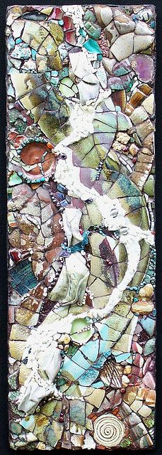 Abstract Mosaic Art – Color & Texture – Mosaic Artist – Kathleen Jones – Portland, Oregon