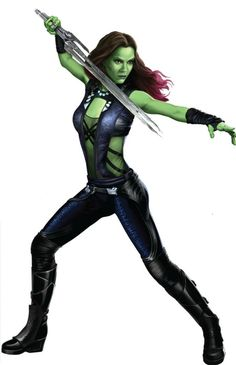 Guardians of the Galaxy #GotG #Gamora