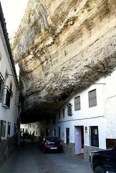 Setenil de las Bodegas, Cadiz, South of Spain.