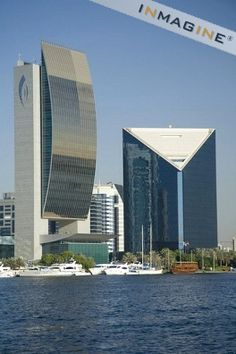 National Bank of Dubai and Dubai Chamber of Commerce buildings,Dubai,United Arab Emirates,Southwest Asia photo