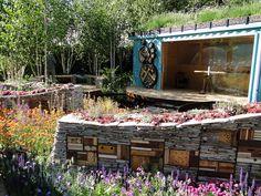 RBC New Wild Garden by Nigel Dunnett & The Landscape Agency for the RHS Chelsea Flower Show 2011