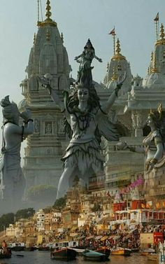 Idol worship is always allowed in Vedas. Shiva Tandav, Rudra Shiva, Shiva Parvati Images, Shiva Statue, Shiva Art, Krishna, Hanuman, Lord Shiva Hd Images, Ganesh Images