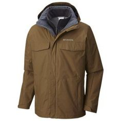 Columbia Bugaboo Interchange Jacket for Men - Trail - 2XL