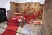 The unraveling of Penelope. This art installation has an interesting story behind it.
