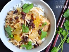 Sweet Chili Chicken Bowls - Budget Bytes