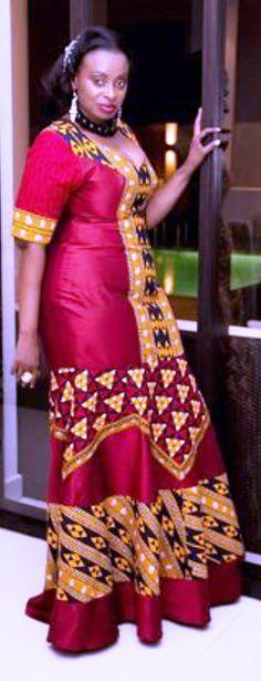 #Fashion #Ethnic #African #Traditional #Beautiful #Style #Beads #Gele #Kente…