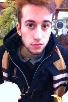 Marco at Starbucks Coffee avenue des Champs Elysées