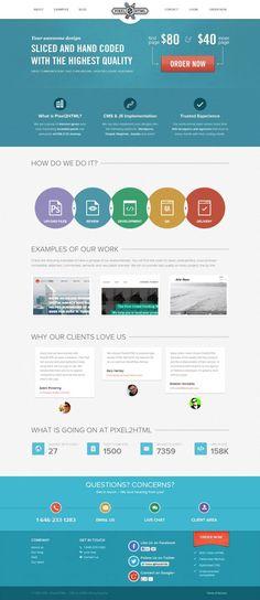Pixel2HTML - PSD to HTML - Webdesign inspiration www.niceoneilike.com