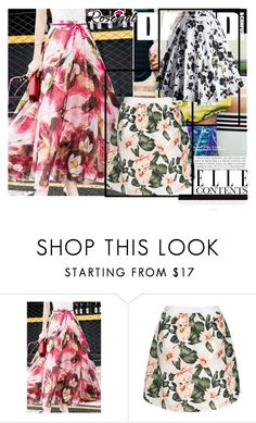 """""""Flower"""" by century-fashion ❤ liked on Polyvore featuring vintage"""