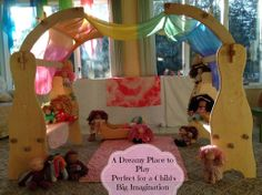 Natural Beach Living - Beautiful playstands  for children