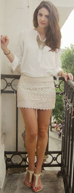 Blusa blanca <3