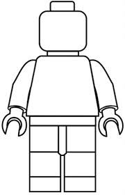 lego man ||| String art pattern