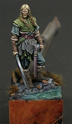 Saxon Chieftain, 5th A.C.