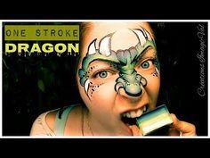 One stroke - Dragon - YouTube