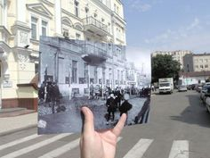 Journey back in time: interesting now and then photos