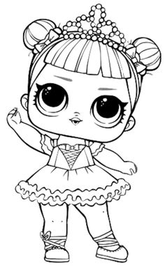 116 Best Lol Dolls Images Lol Dolls Coloring Books