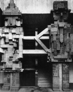 /lucien-kroll-university-dormitory-detail Lucien Kroll, Brutalist, Concrete, Sculpture, Photography, Painting, Dormitory, Abundance, Art