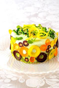 """笑顔があふれる「ベジデコサラダ」 This Name is """"Vegedecosalad"""" gltenfree & No Suger New Style Salad from Japan"""