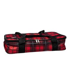 Take a look at this Red & Black Tartan Casserole Carrier today!